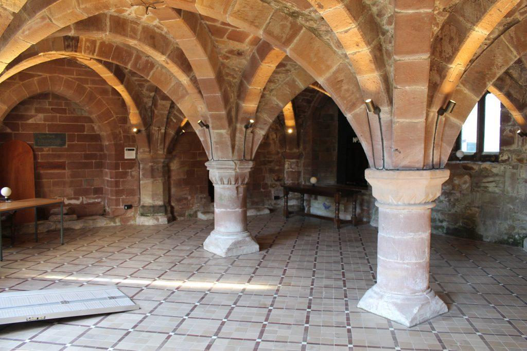 Image of rib vaulted bays at Norton Priory